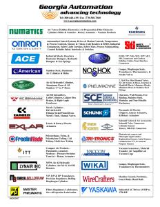 Georgia Automation Line Card page one