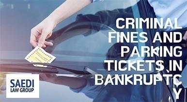 criminal fines bankruptcy atlanta bankruptcy lawyer ticket on car