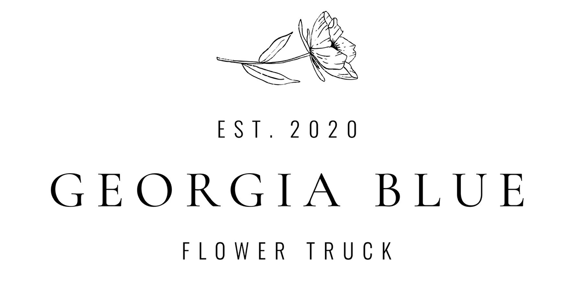 Georgia Blue Flower Truck