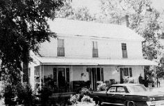 Photograph of Willie Long home, Madison County, Georgia, 196_