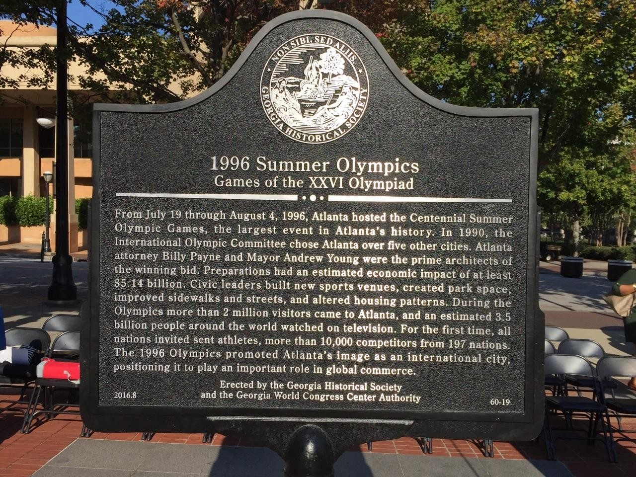 Marker Monday: 1996 Summer Olympics: Games Of The XXVI
