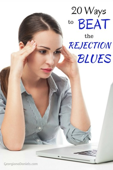 All writers face rejection at some point in their careers. We can either throw a giant pity party or turn it around and be overcomers. Here are 20 ways to beat the rejection blues!