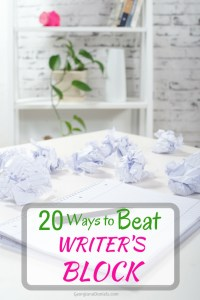 20 Ways to Beat Writer's Block