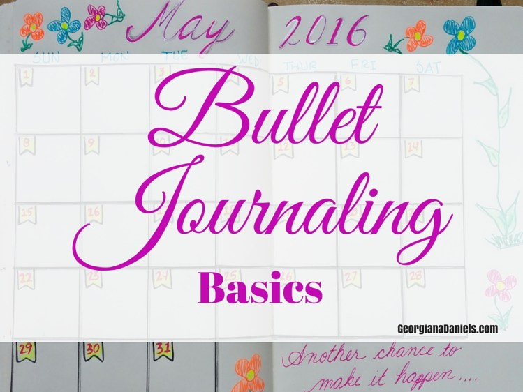 Bullet Journaling Basics for beginners. Bullet journals can be as elaborate or as simple as you like, and the great thing is, you get to customize your journal for your needs. This post shows the basics, and you can customize from there. http://wp.me/p7iWQm-3W