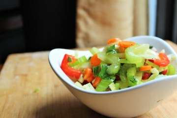 chopped summer salad