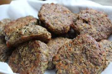 Turkey and quinoa patties
