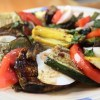 Grilled Veggies with Balsamic Dressing