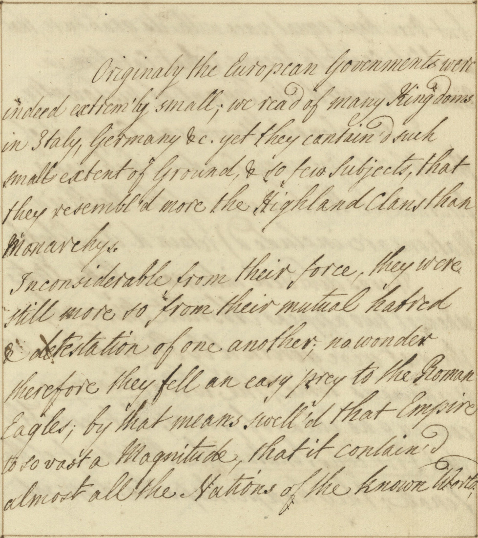 Reflections on Transcribing the Georgian Papers
