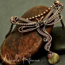 Nicole Hanna dragonfly pendant