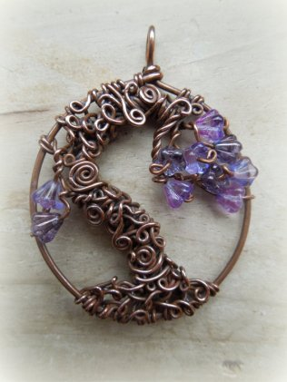Vixens Natural Jewellery tree of life pendant2