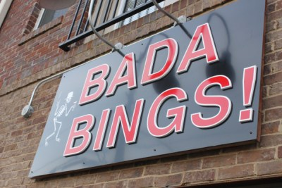Bada Bings! Sports Food & Fun, a local sports bar at The Pencil Factory, is a popular hangout spot among Georgia State students and alumni that regularly shows Panthers sporting events.   PHOTO BY JADE JOHNSON   THE SIGNAL