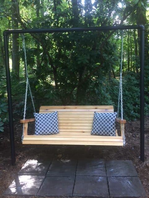 Cedar Marietta Porch Swing