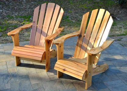 wood adirondack chairs