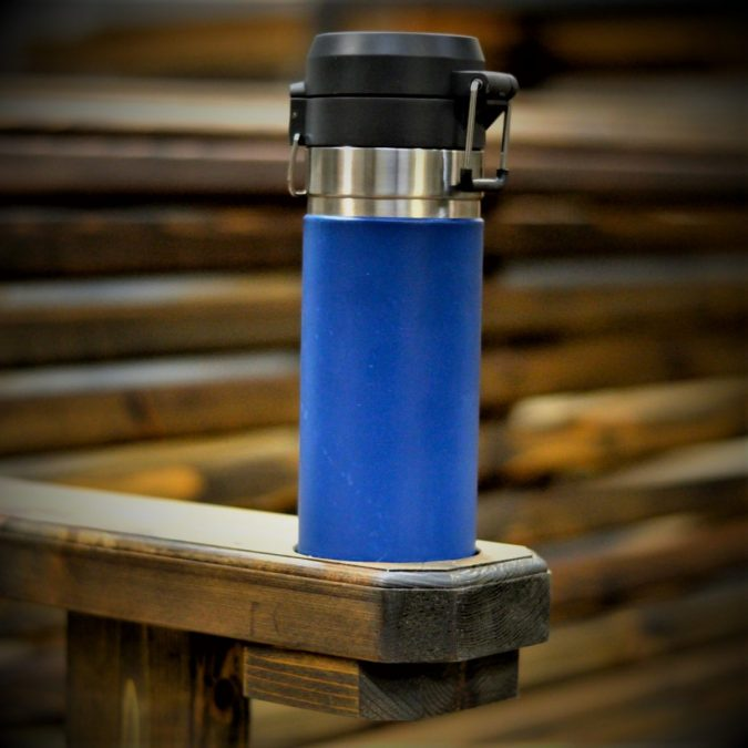 Porch Swing Cupholder