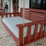 twin-size bed swings