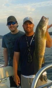 6-pound walleye caught from Carters Lake in Aug. 2015.