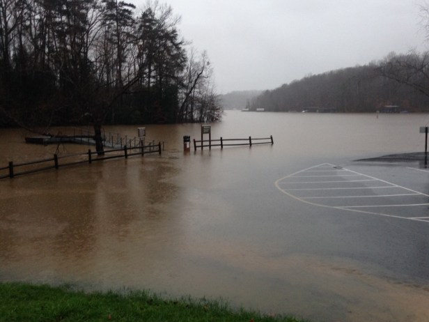 boat ramp Lanier Little River 12-30-15