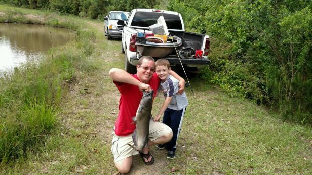 Jacob and William Lee Catfish 4 16