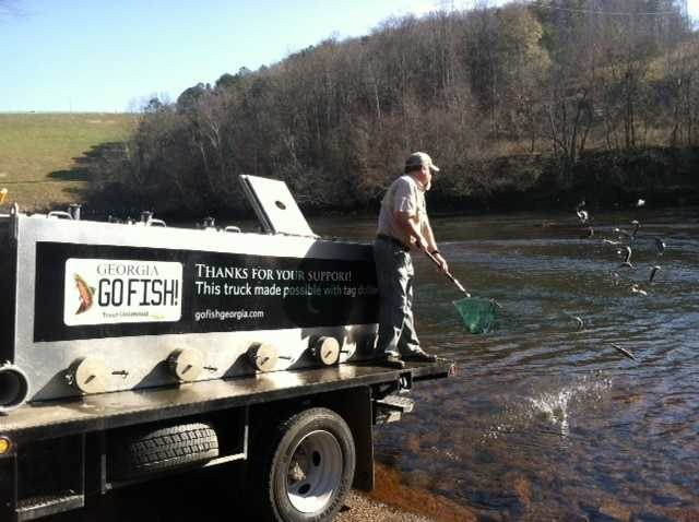 Georgia Fishing Report: December 22, 2017