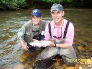 trout rainbow Pat and Jimmie Noon July 05