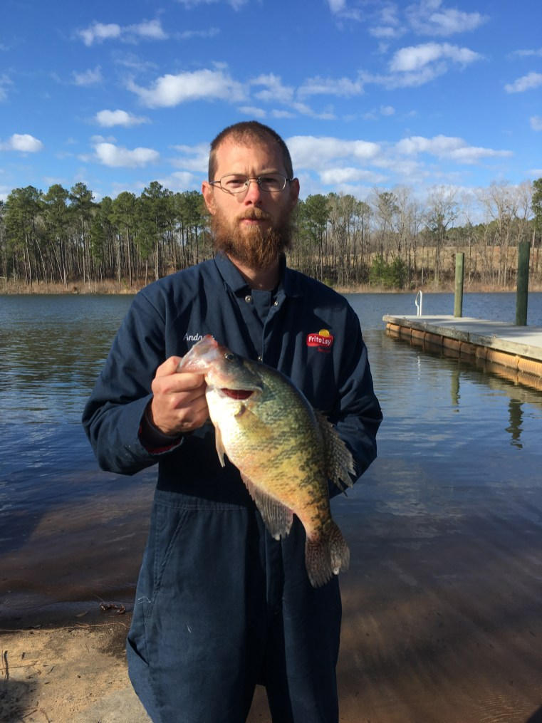 Andrew Laney caught this crappie at Ocmulgee PFA