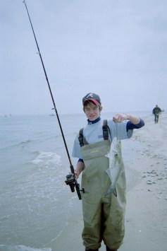fishing NJ surf bluefish May 05