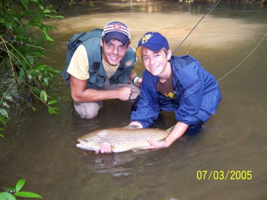 trout brown 24 in Pat2 Dukes July 05