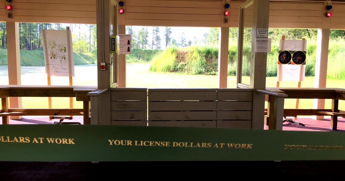Your License Dollars at Work: Range Renos