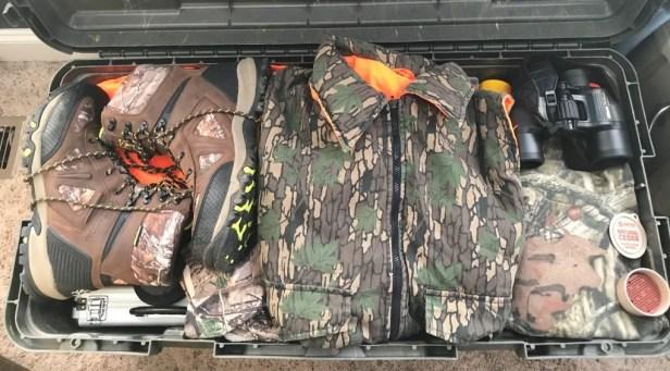 Modern hunting gear