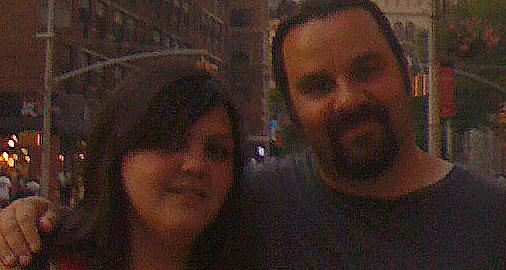 Elizabeth & Jeff sugar rush in NYC