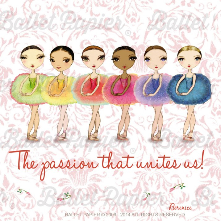 Ballet Papier: Ballet is the passion that unites us