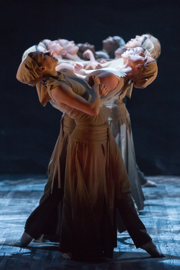 English National Ballet's 'Lest We Forget': Dancers perform Akram Khan's 'Dust' (photo by Arnaud Stephenson)