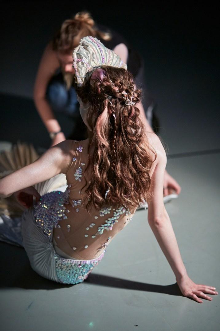 Northern Ballet dancer Abigail Prudames as The Little Mermaid.