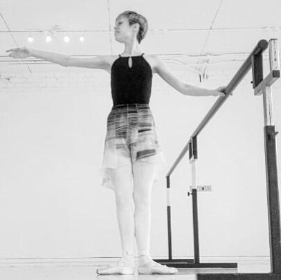 Georgina Butler in the studio 1