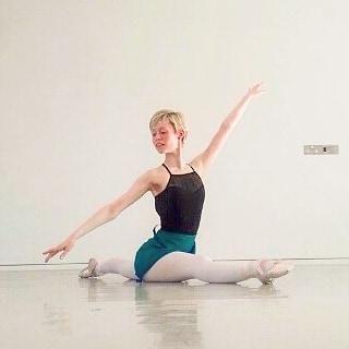 Georgina Butler in the studio 3