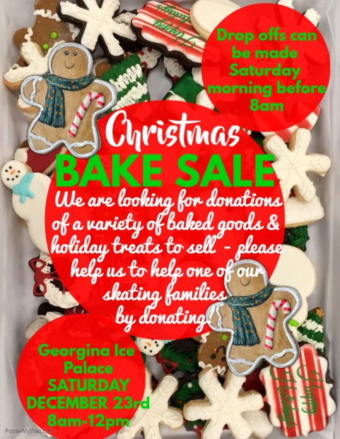 GSC Christmas Bake Sale