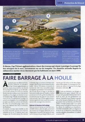 Les Nouvelles, Magazine d'information de Lorient Agglomération, Janvier-Février 2012 – n°2 (pages intérieures)
