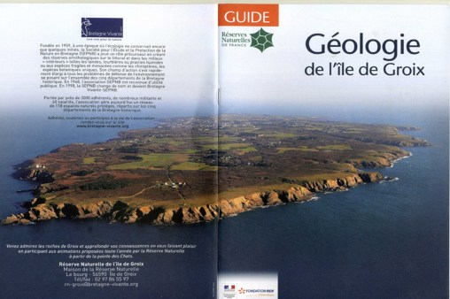 Géologie de l'Ile de Groix Bretagne Vivante (couverture)