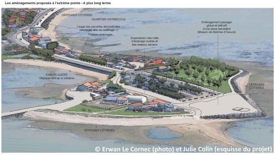 DREAL Poitou-Charentes, zones de solidarité en Charente-Maritime, projet de restauration après déconstruction suite à la tempête Xynthia, 2013 (Mandataire : Julie Colin, Paysagiste DPLG)