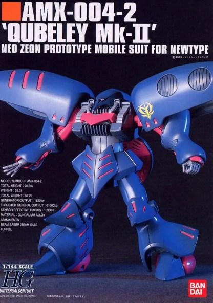 HGUC 1/144 AMX 004 2 QUBELEY MK II - Nº 011