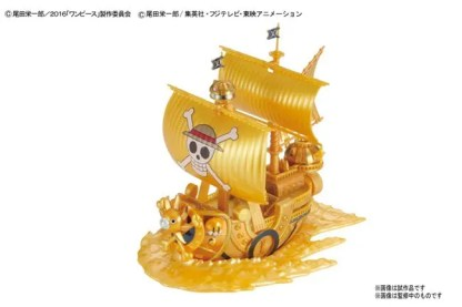 GRAND SHIP COLLECTION THOUSAND SUNNY GOLD