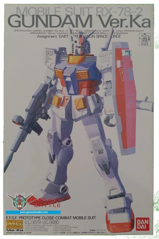 MG 1/100 MOBILE SUIT RX-78-2 GUNDAM VER. KA
