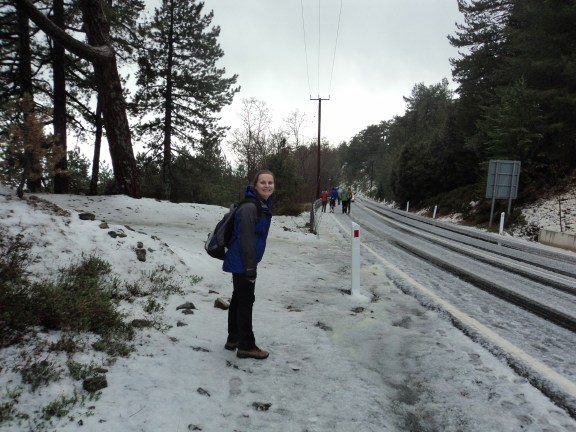 Snow in Cyprus (!)