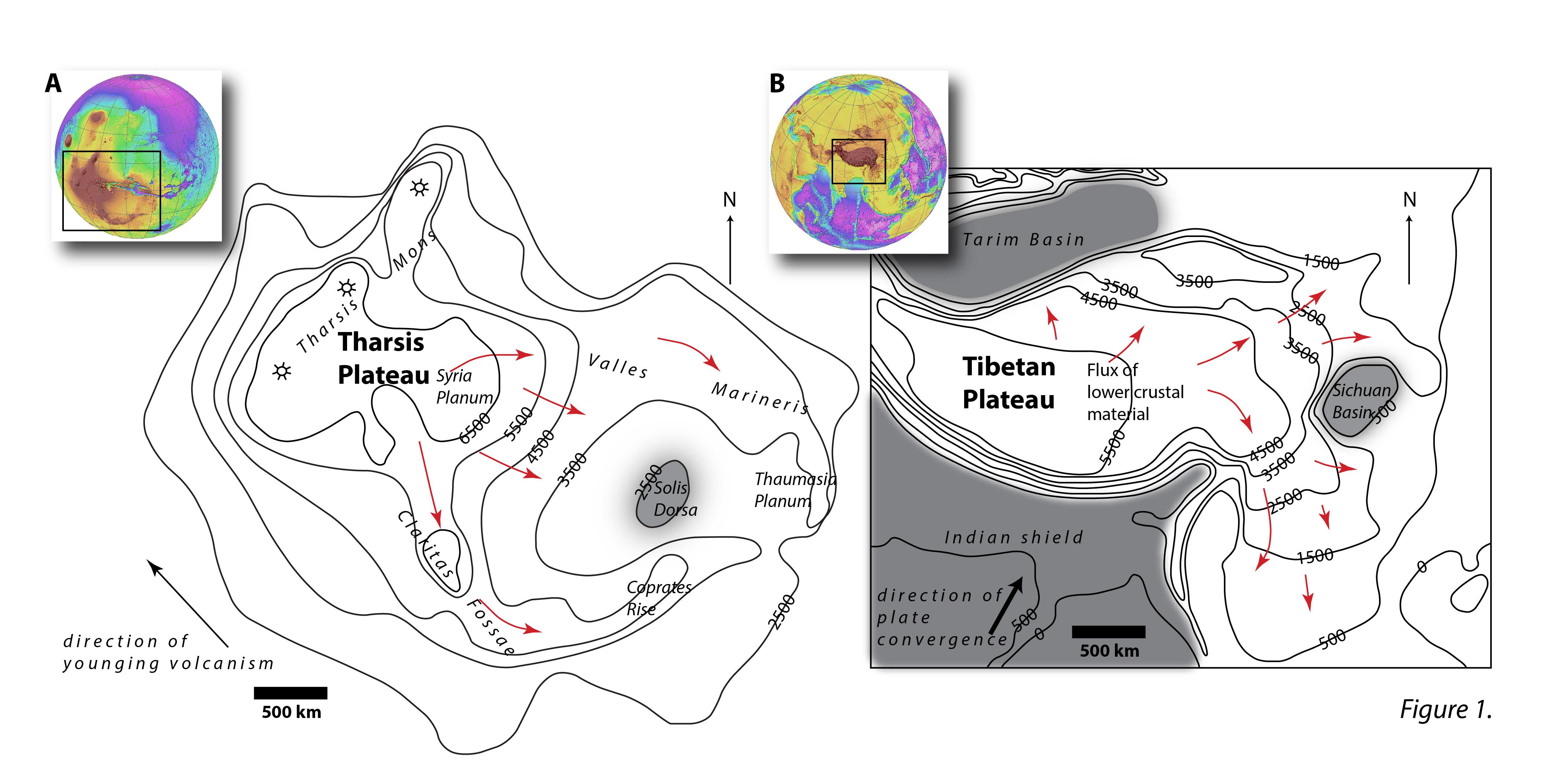 Did The Lower Crust Flow On Mars Speaking Of Geoscience