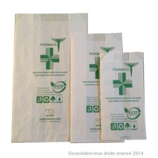 Emballage Kraft pour pharmacie