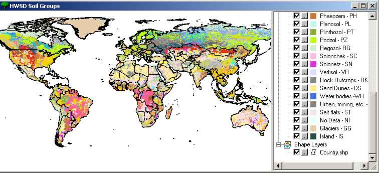 Harmonized World Soil Index