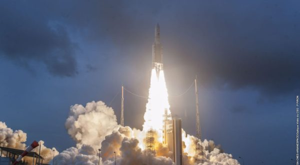 Arianespace successfully launches an Indian and a South ...