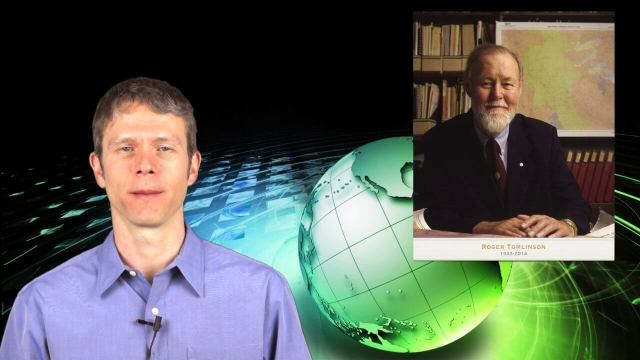 2_12 Roger Tomlinson Broadcast (GeoDesign Summit, Tomlinson Tribute, Landsat 8 and More)