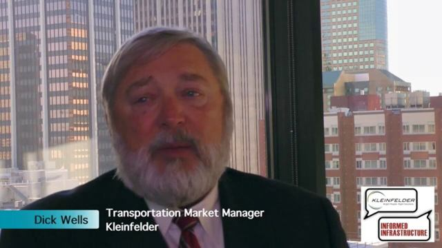 Kleinfelder Interview – Dick Wells, Transportation Market Manager
