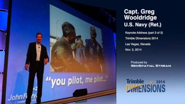 Blue Angels Pilot Delivers Dimensions Keynote (3 of 3)